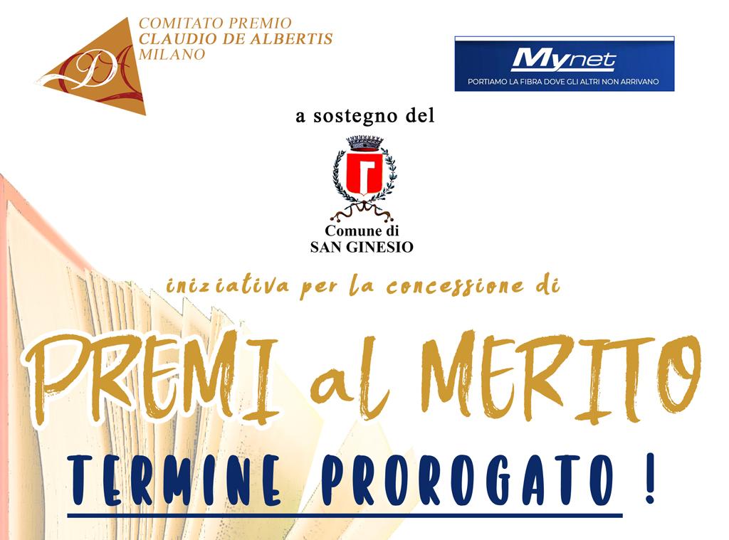 Premi al merito_proroga